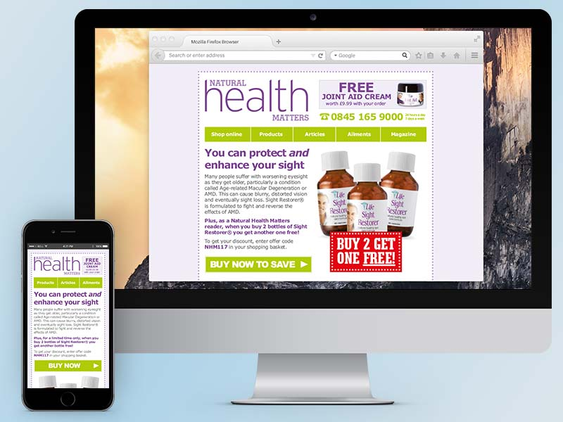 Natural Health Matters Email