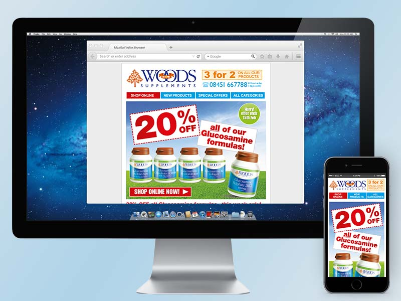 Woods Supplements Email