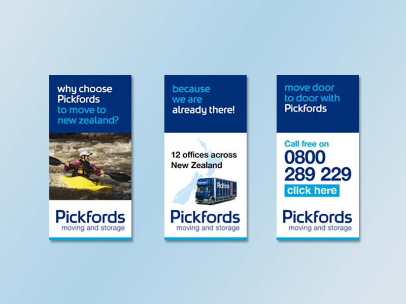 Pickfords Animated Banner